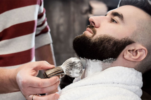 beard front