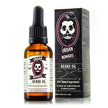 beard oil by urban nomads