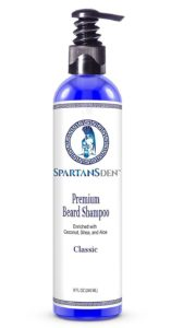 spartansden beard shampoo