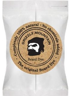 Organic and Natural Brown Beard Dye - Grizzly Mountain